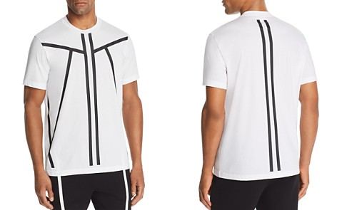 BLACKBARRETT by Neil Barrett Tape-Stripe Graphic Tee - Bloomingdale's_2