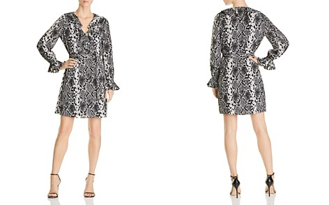 Le Gali Loma Snake-Print Ruffle Dress - 100% Exclusive - Bloomingdale's_2