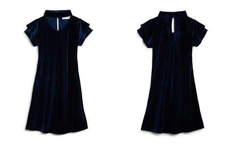 US Angels Girls' Velvet Choker Dress - Little Kid - Bloomingdale's_2