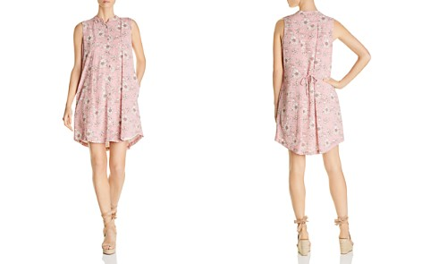 B Collection by Bobeau Taryn Pinstripe Floral-Print Shirt Dress - Bloomingdale's_2