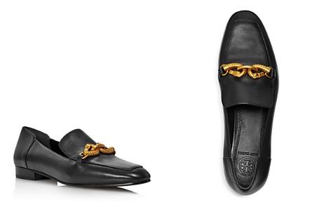 Tory Burch Women's Jessa Almond-Toe Leather Loafers - Bloomingdale's_2