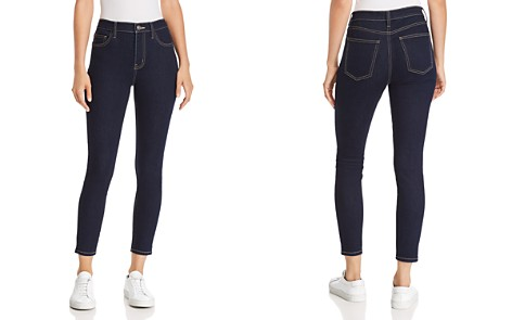Current/Elliott The Stiletto High-Rise Cropped Skinny Jeans in 0 Clean Stretch Indigo - Bloomingdale's_2