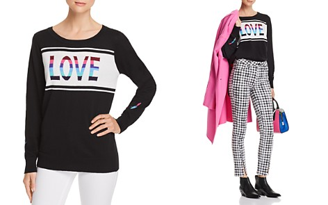 CHASER Love Intarsia Sweater - Bloomingdale's_2