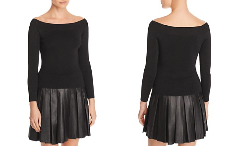 Whistles Off-the-Shoulder Sparkle Sweater - 100% Exclusive - Bloomingdale's_2