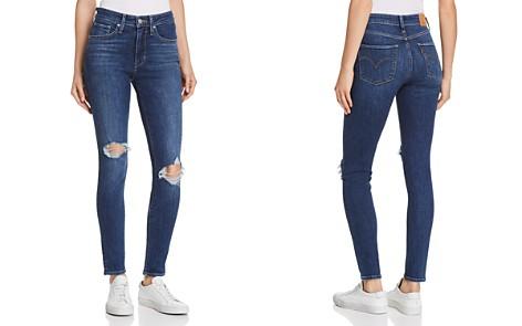 Levi's 721 High Rise Skinny Jeans in Indigo Luna - Bloomingdale's_2