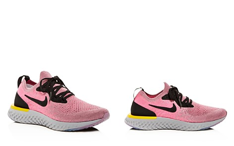 Nike Women's Epic React Flyknit Lace Up Sneakers - Bloomingdale's_2