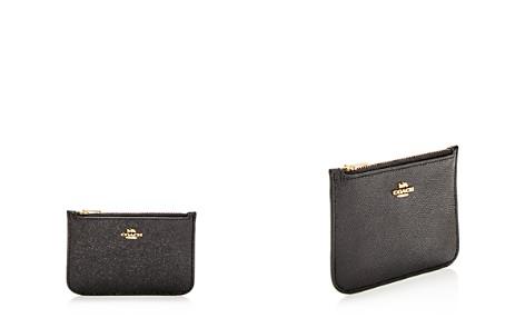 Coach Crossgrain Leather Zip Card Case - Bloomingdale's_2