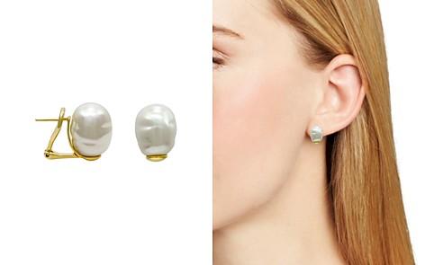 Majorica 12mm Simulated Pearl Stud Earrings - Bloomingdale's_2