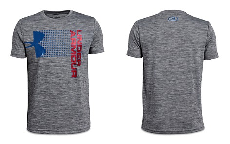 Under Armour Boys' Heathered Crossfade Logo Tee - Big Kid - Bloomingdale's_2