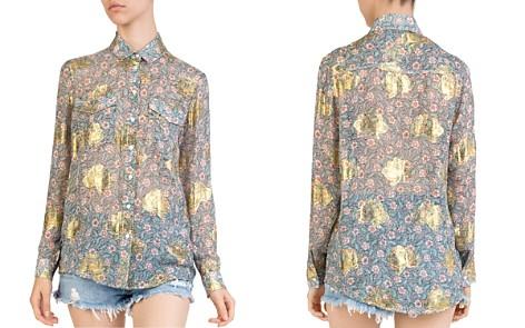 The Kooples Western-Inspired Floral-Print Shirt - Bloomingdale's_2
