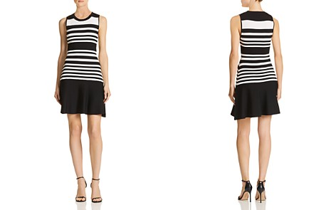 Parker Penny Striped Knit Dress - Bloomingdale's_2