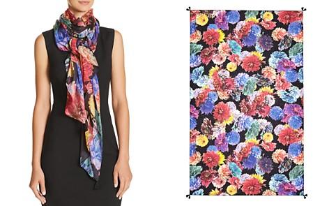 Echo Dahlia Floral Print Wrap - Bloomingdale's_2