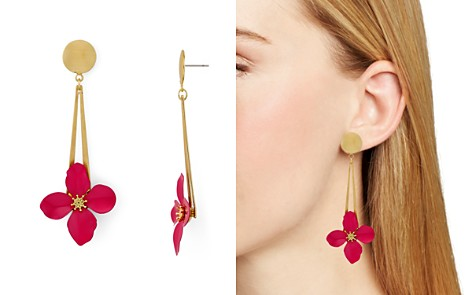 AQUA Floral Drop Earrings - 100% Exclusive - Bloomingdale's_2