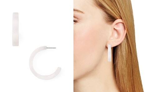 AQUA Lucite Hoop Earrings - 100% Exclusive - Bloomingdale's_2