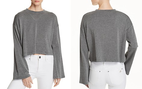 LNA Abby Cropped Sweater - Bloomingdale's_2