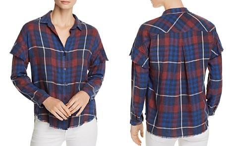 Bella Dahl Ruffled Plaid Shirt - 100% Exclusive - Bloomingdale's_2
