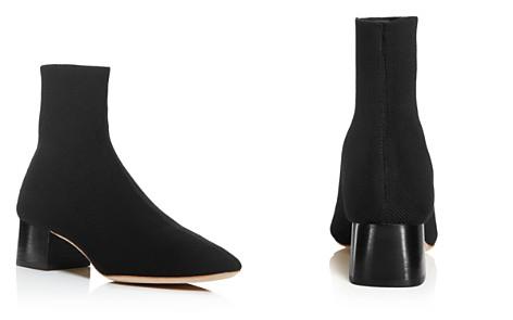 Loeffler Randall Women's Carter Pointed-Toe Knit Block Low-Heel Booties - Bloomingdale's_2