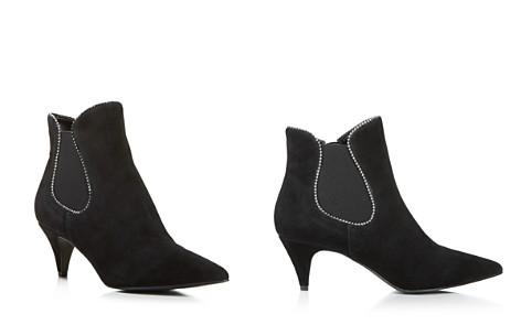 AQUA Women's Mia Pointed-Toe Kitten Heel Suede Booties - 100% Exclusive - Bloomingdale's_2