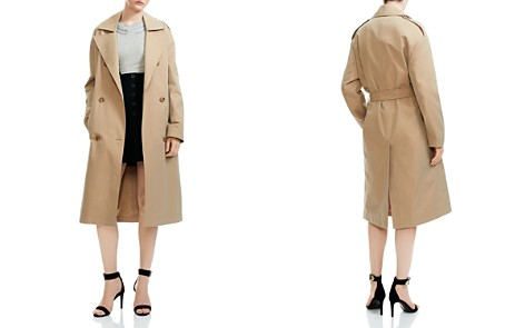 Maje Gomby Trench Coat - Bloomingdale's_2