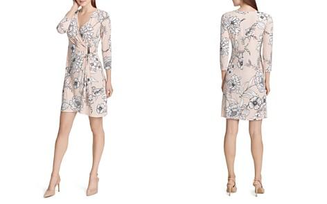 Calvin Klein Floral Faux-Wrap Dress - Bloomingdale's_2