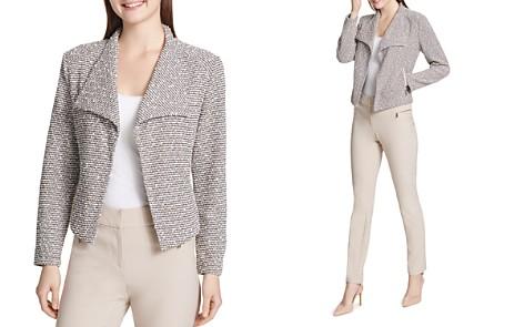 Calvin Klein Textured Knit Open-Front Jacket - Bloomingdale's_2