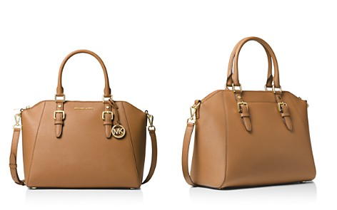 MICHAEL Michael Kors Ciara Large Leather Satchel - Bloomingdale's_2