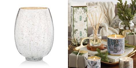 Illume Balsam & Cedar Large Crackle Glass Candle - Bloomingdale's_2