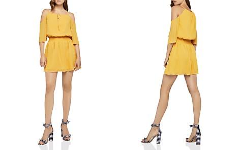 BCBGeneration Cold-Shoulder Smocked Dress - Bloomingdale's_2