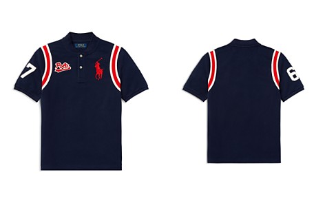 Polo Ralph Lauren Boys' Cotton Mesh Baseball Shirt - Big Kid - Bloomingdale's_2