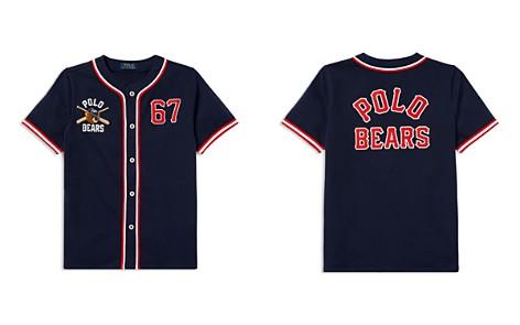 Polo Ralph Lauren Boys' Polo Bear Cotton Baseball Jersey - Big Kid - Bloomingdale's_2