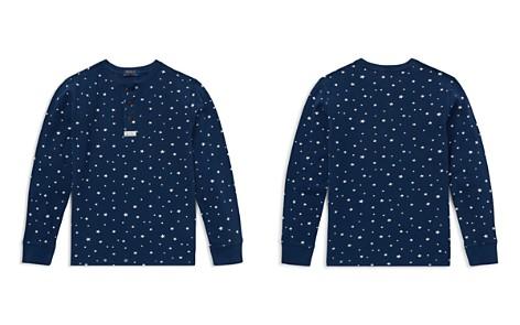 Polo Ralph Lauren Boys' Star-Print Cotton Mesh Henley - Big Kid - Bloomingdale's_2