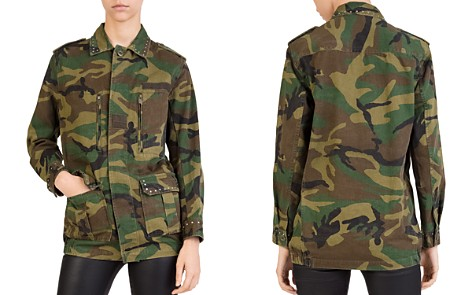 The Kooples Studded Camo Jacket - Bloomingdale's_2