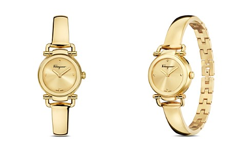 Salvatore Ferragamo Gancino Casual Gold Watch, 26mm - Bloomingdale's_2
