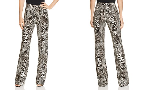 Badgley Mischka Leopard-Print Bootcut Pants - Bloomingdale's_2