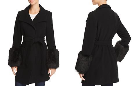 Joie Hesperina Faux-Fur-Trimmed Coat - Bloomingdale's_2