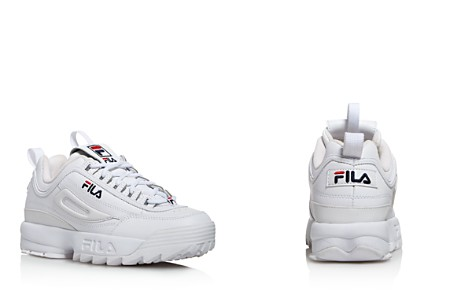 FILA Women's Disruptor II Premium Lace Up Leather Dad Sneakers - Bloomingdale's_2