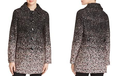 Elie Tahari Rakel Ombré-Tweed Coat - Bloomingdale's_2