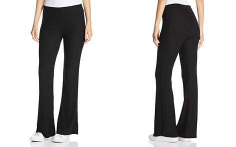 Three Dots Brushed Flared-Leg Pants - Bloomingdale's_2