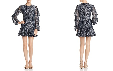 Keepsake Engage Ruffle-Sleeve Lace Dress - Bloomingdale's_2