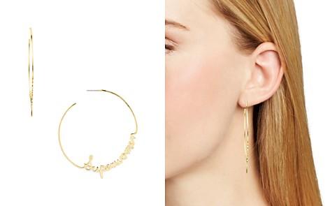 Rebecca Minkoff Superwomen Hoop Earrings - Bloomingdale's_2
