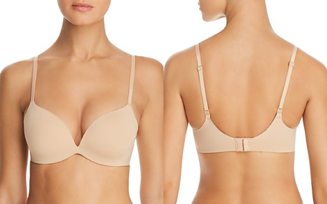 Calvin Klein Form Convertible Deep Plunge Push-Up Underwire Bra - Bloomingdale's_2