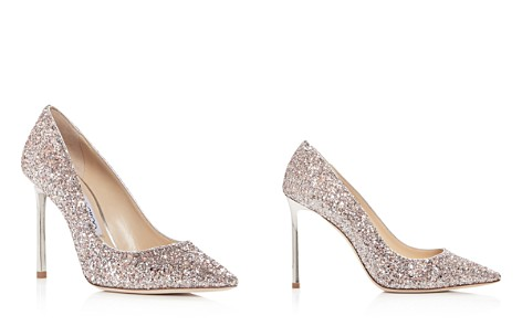Jimmy Choo Women's Romy 100 Speckled Glitter Pointed Toe Pumps - Bloomingdale's_2