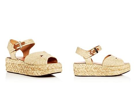 Robert Clergerie Women's Aude Raffia Platform Sandals - Bloomingdale's_2