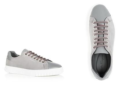 Salvatore Ferragamo Men's Nubuck Leather Lace Up Sneakers - Bloomingdale's_2
