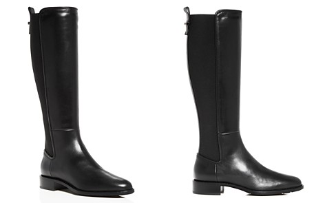 Aquatalia Women's Nastia Weatherproof Leather Low-Heel Riding Boots - Bloomingdale's_2