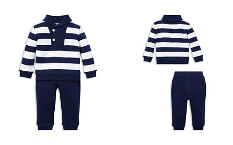 Ralph Lauren Boys' Striped Cotton Sweater & Jogger Pants Rugby Set - Baby - Bloomingdale's_2