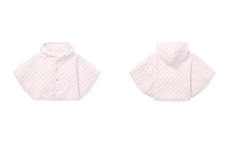 Ralph Lauren Girls' Quilted Velour Hooded Cape - Baby - Bloomingdale's_2