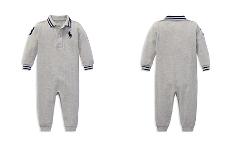 Ralph Lauren Boys' Cotton Mesh Polo Coverall - Baby - Bloomingdale's_2