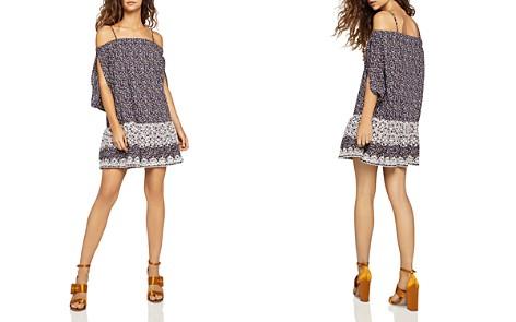 BCBGeneration Cold-Shoulder Floral Embroidered Dress - Bloomingdale's_2