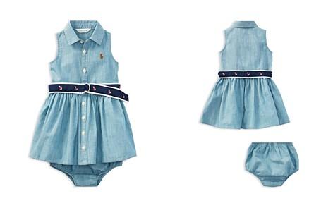 Ralph Lauren Girls' Chambray Dress, Belt & Bloomers Set - Baby - Bloomingdale's_2